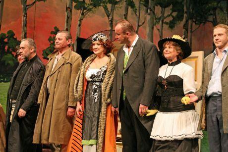 Zlata Adamovská na divadle