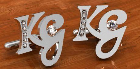 Diamantové knoflíčky