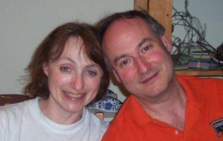 Yveta s manželem