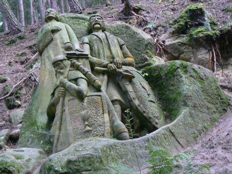 Reliéfy Stanislava Rolínka