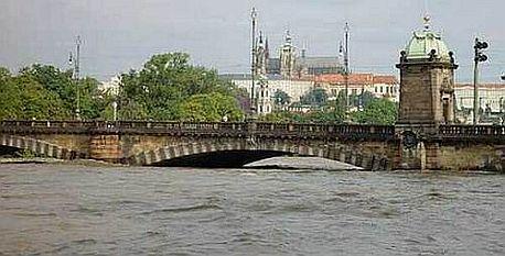 Povodeň v Praze na Vltavě
