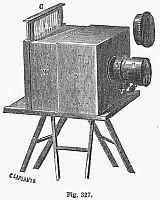 Přístroj pořizující daguerrotypie