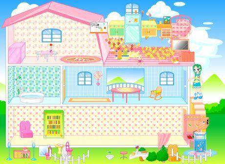 Barbie domeček