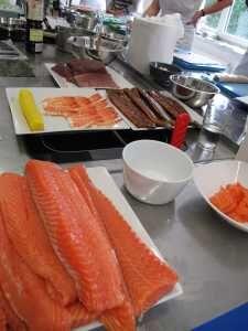 Suroviny na Sushi
