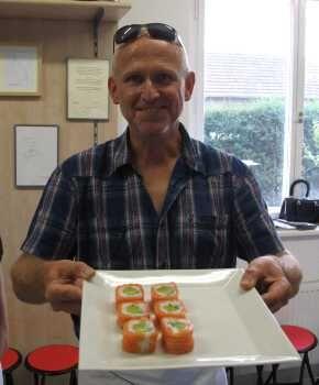 První Sushi pana Ryšavého na kurzu