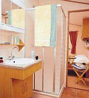 Interiér mobilního domu