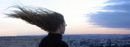 Vlasy ve větru