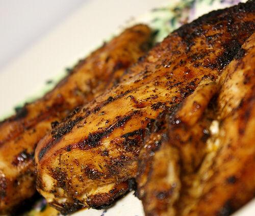 sladko-pálivé kuře