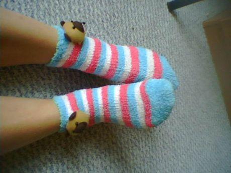 Ráno v ponožkách