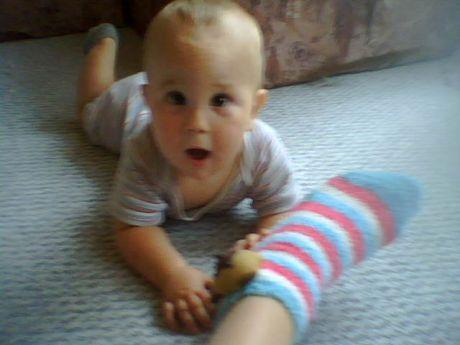Ponožky a škvrně