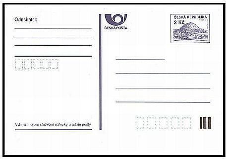 Korespondenční lístek neboli provozní dopisnice