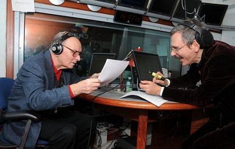 Ennio Morricone (vlevo)