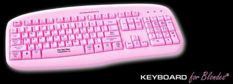 Blond klávesnice