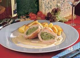 kuřecí kapsy s brokolicovou náplní