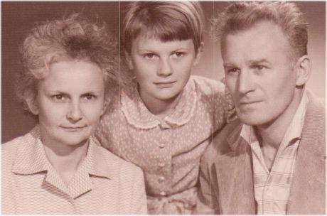 Věrulinka a rodiče