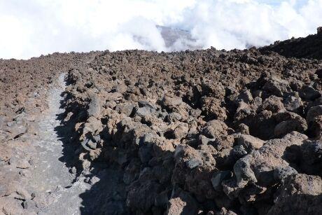 Chodníček na Pico del Teide