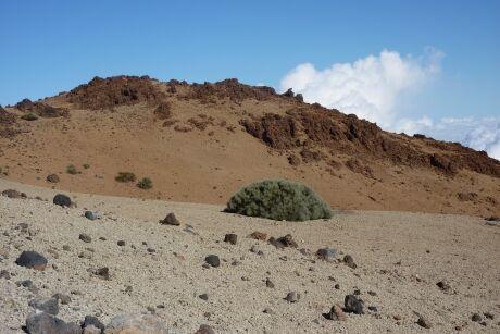 Pico del Teide - krajina okolo