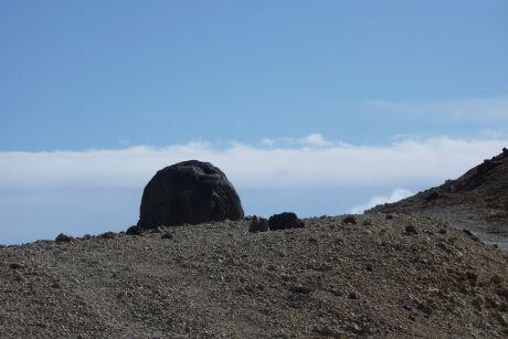 Kamenné vejce z Pico del Teide