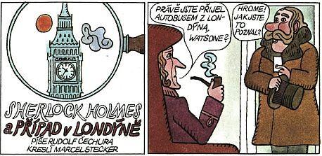 """""""Čtyřlístkový"""" komiks"""
