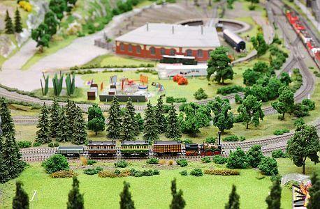 model železnice