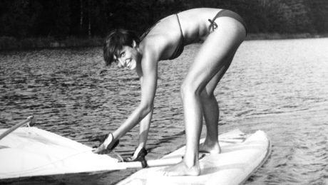 Renata Vesecká v plavkách