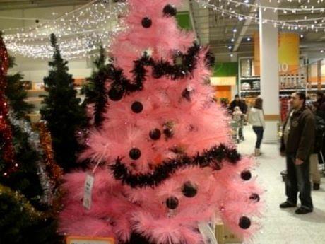 růžový stromeček