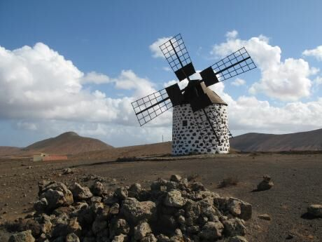 Kanárské ostrovy Fuerteventura