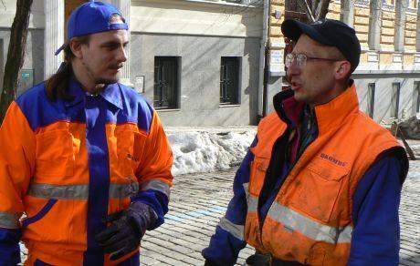 Popelářem - Jakub a Dan