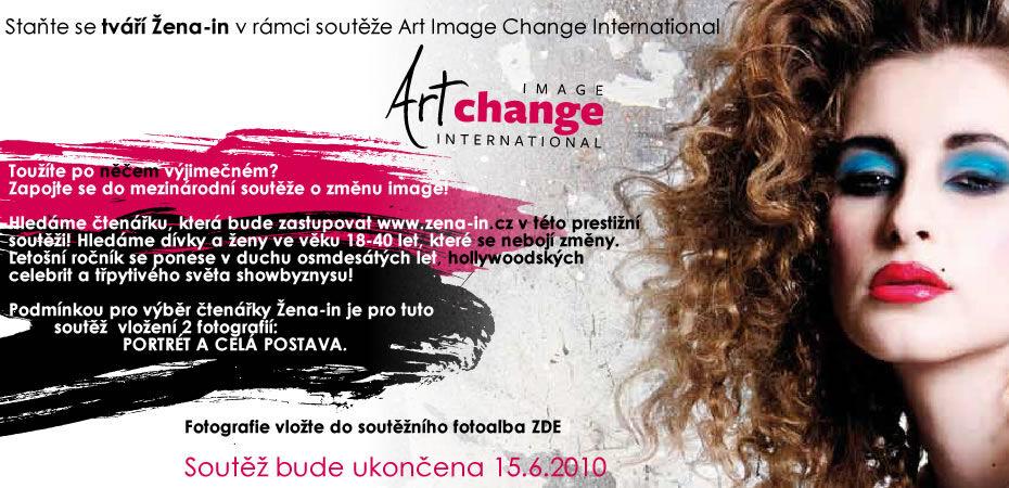 Staňte se tváří Žena-in vrámci soutěže Art Image Change International
