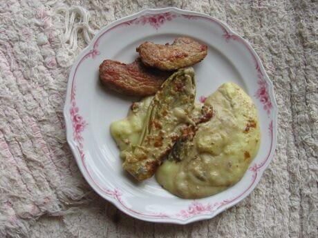 čekanka s bramborovou kaší