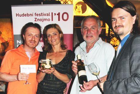Start Hudebního festivalu Znojmo