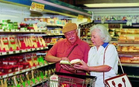 nákup senioři
