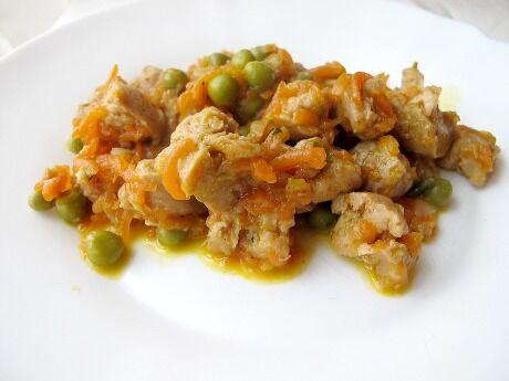 sojové maso s mrkví