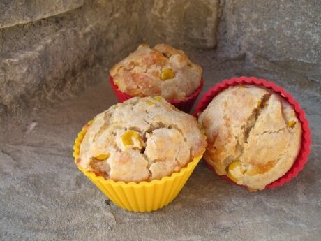 muffiny s kukuřicí