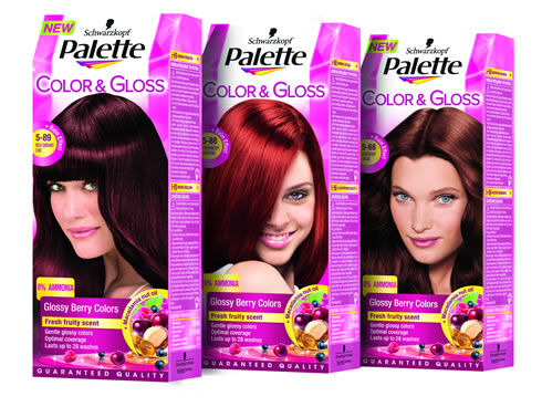 Palette Color & Gloss Berry Colors