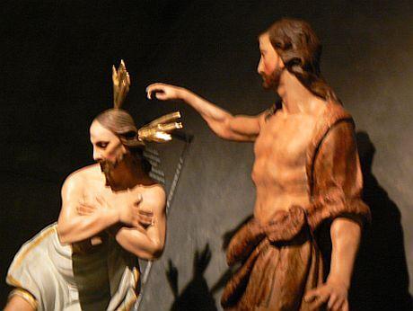 Křest Páně z Radostína nad Oslavou