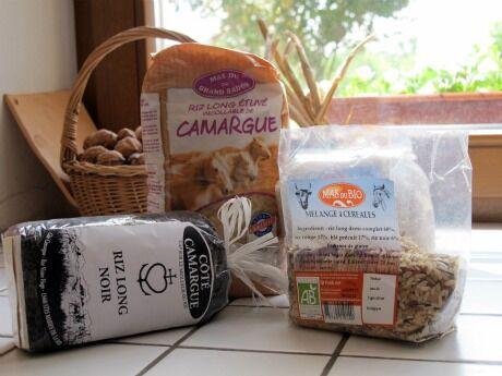 rýže z Camargue