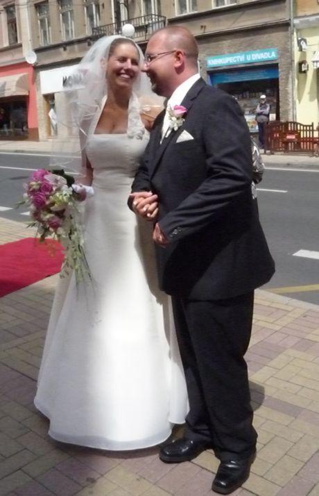 nevěta se ženichem