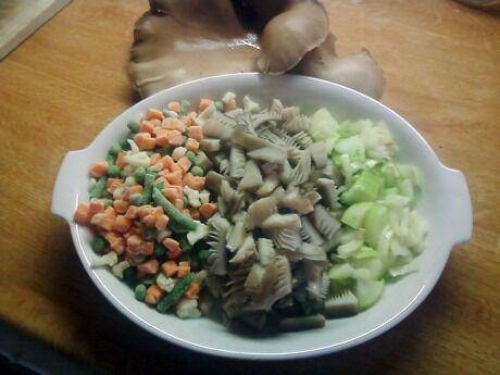 suroviny na polévku
