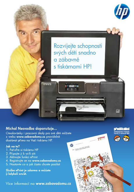 HP tiskárna