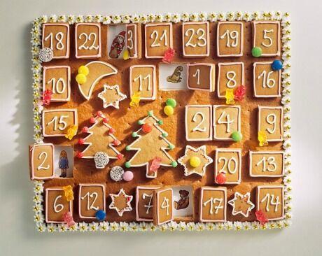 perníčkový adventní kalendář