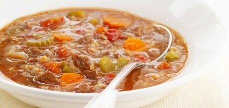 výživná vločková polévka