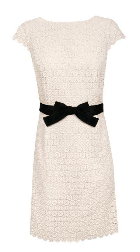 šaty s mašlí