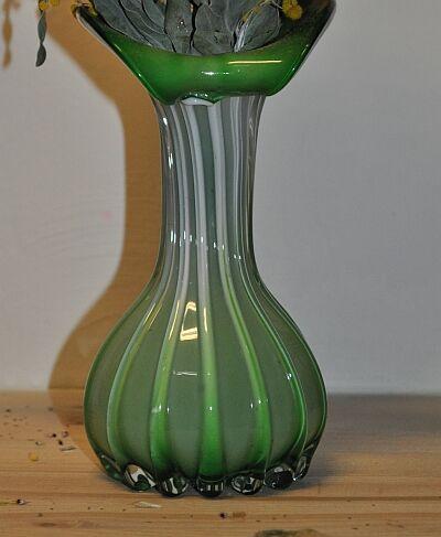 zelene sklo