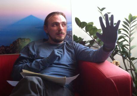 Jakub v rukavicích