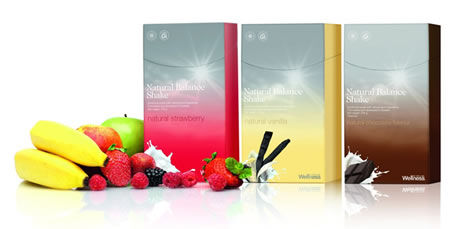 Wellness koktejly Natural Balance