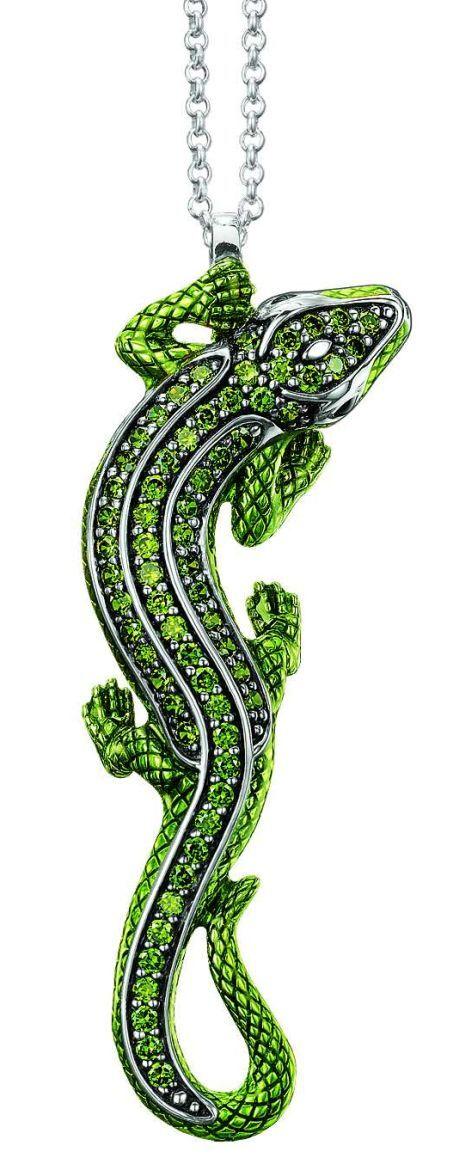 šperk ještěrka