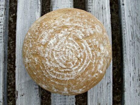 pivní žitný chléb