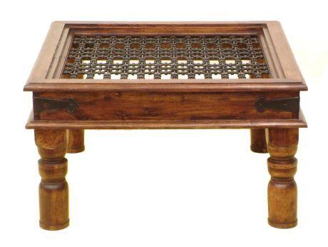 stolek se mříží