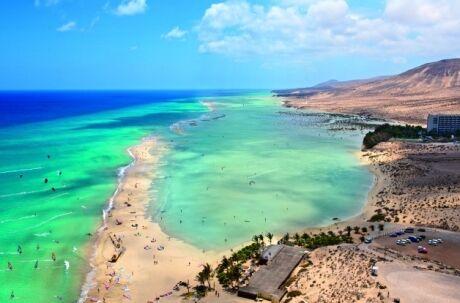 playa barca Fuerteventura